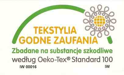 Certyfikat Oeko-TEX Standard