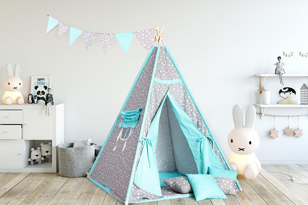 Przykładowy namiot tipi