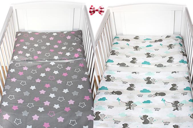 Bettwäsche 100% 100x135 Baumwolle Mädchen +40x60 Bettwäsche